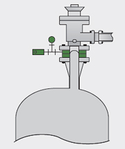 In case of the combination with safety valve Image